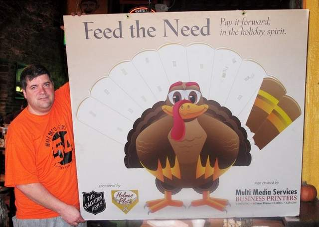 A Reminder at Thanksgiving to Help Those in Need in YOUR Town!