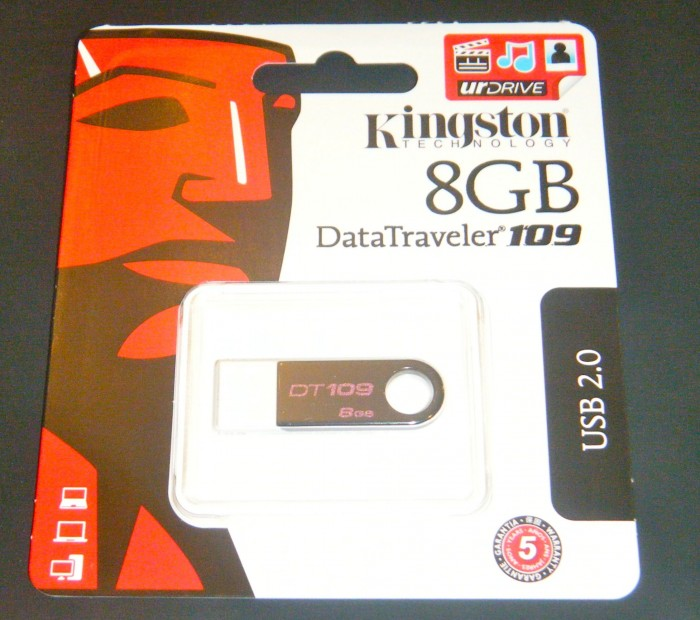 Kingston DataTraveler 109 with urDrive Review