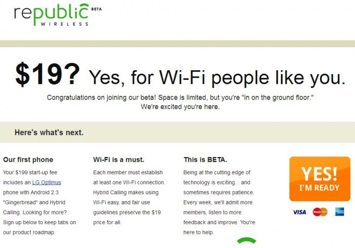 Republic Wireless $19 Per Month Cell Service Open for Signups