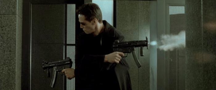 Random Cool Video: Mambo #5 Meets The Matrix