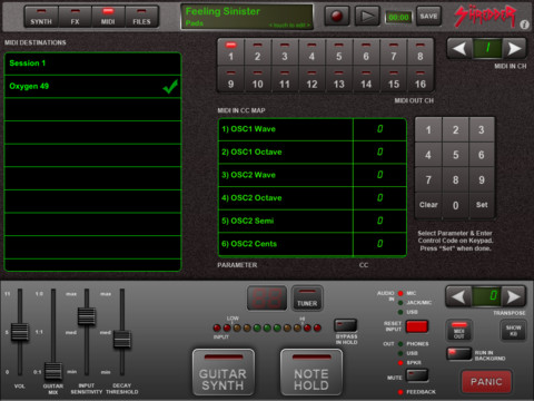 Shredder Guitar Synthesizer for iPad Review  Shredder Guitar Synthesizer for iPad Review  Shredder Guitar Synthesizer for iPad Review