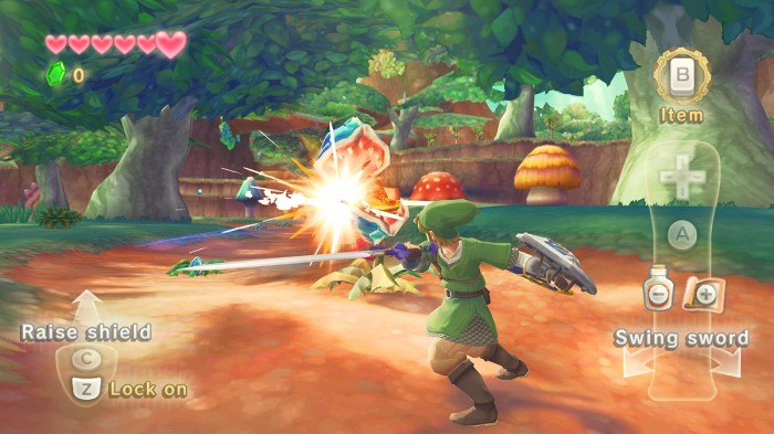 Nintendo Wii Review: The Legend of Zelda: Skyward Sword