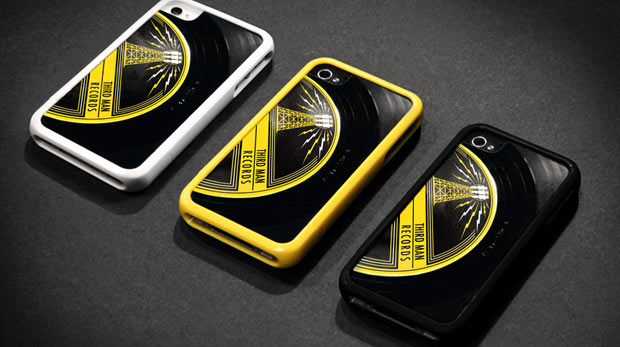 "Griffin and Third Man Records Put a Spin on Your iPhone 4S with a Case Custom Cut from a 7"" Vinyl Record"