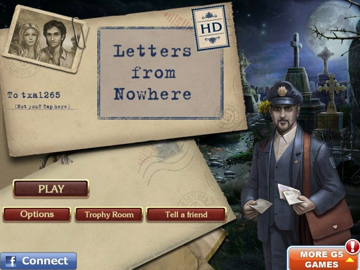 Letters From Nowhere iPad Game Review  Letters From Nowhere iPad Game Review