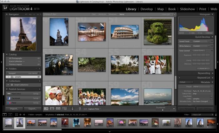 Adobe Debuts Photoshop Lightroom 4 Public Beta on Adobe Labs