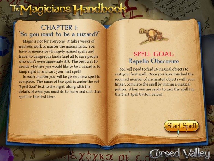 The Magician's Handbook: Cursed Valley for iPad Review  The Magician's Handbook: Cursed Valley for iPad Review  The Magician's Handbook: Cursed Valley for iPad Review  The Magician's Handbook: Cursed Valley for iPad Review  The Magician's Handbook: Cursed Valley for iPad Review