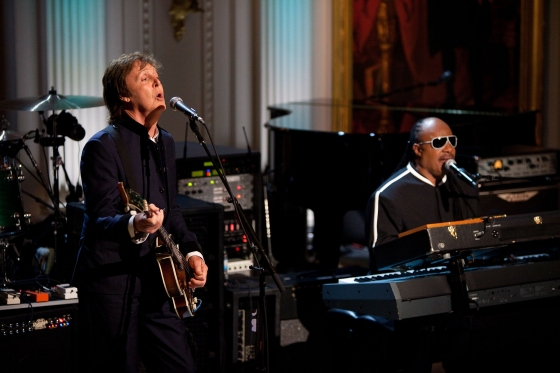 Paul McCartney and Stevie Wonder Reunite on New McCartney Album