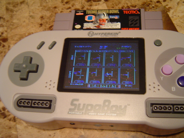 GearDiary Hyperkin Supaboy Portable Pocket SNES Console Review