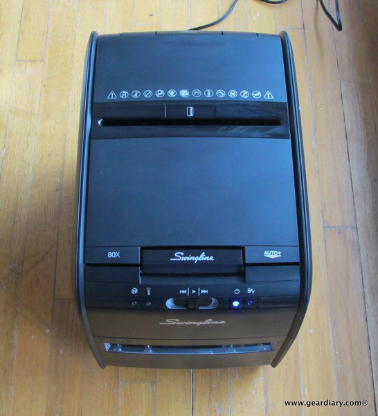 swingline stack and shred 80x handsfree cross cut shredder review