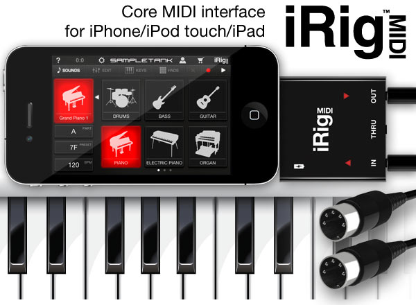 iRig MIDI Interface and Recorder Software Review