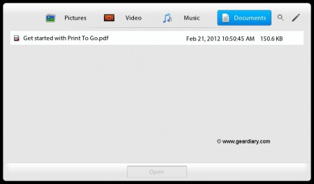 GearDiary Kicking the Tires of OS 2.0 for Blackberry Playbook