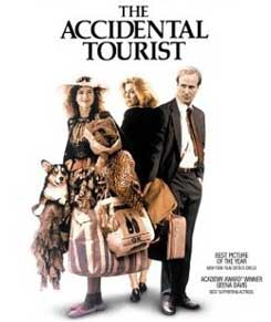 Movie/Book Retrospective: The Accidental Tourist  Movie/Book Retrospective: The Accidental Tourist  Movie/Book Retrospective: The Accidental Tourist