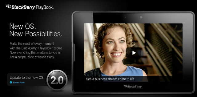 Kicking the Tires of OS 2.0 for Blackberry Playbook