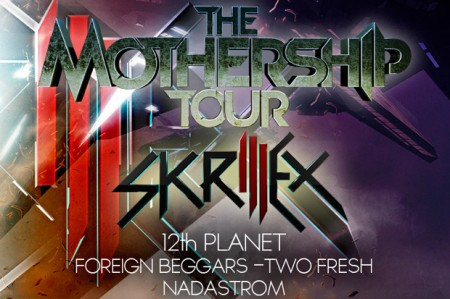 Skrillex Provides a Look Inside the Mothership Tour