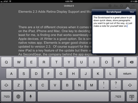 Elements 2.3 Adds Retina Display Support and Much More  Elements 2.3 Adds Retina Display Support and Much More