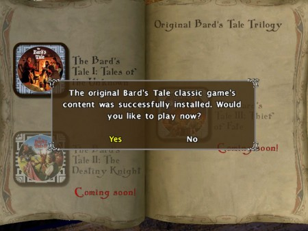 The Bard's Tale for iPad Adds Classic Bard's Tale from 1985!