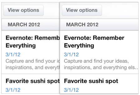 GearDiary How Much Better is the New iPad's Screen? Evernote has the Answer