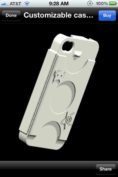 GearDiary Sculpteo 3D Printing Engine iPhone Case review