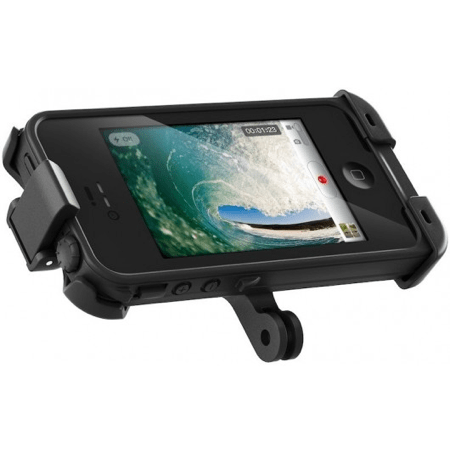 LifeProof Belt Clip, Bike and Bar Mount, and GoPro Mount for iPhone 4S Video Review