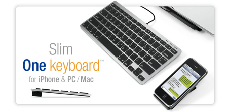 Slim One Keyboard for iPhone and Mac Review