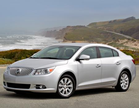2012 Buick LaCrosse with eAssist