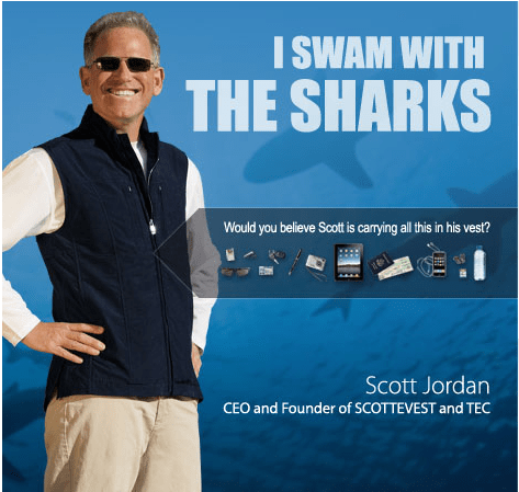 Scott Jordan Appears on Shark Tank, but Who Was the Shark? And Who Was the Bait?