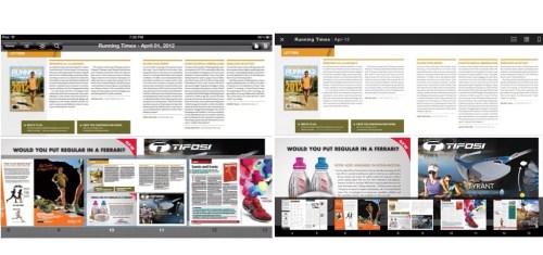 Amazon Kindle Newsstand Versus Zinio on iPad
