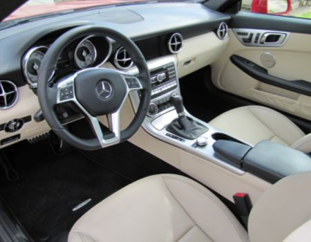 Spring is (Always) in the Air in 2012 Mercedes-Benz SLK350