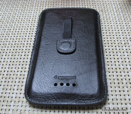 SPIGEN SGP HTC One X Crumena Leather Pouch Series Review