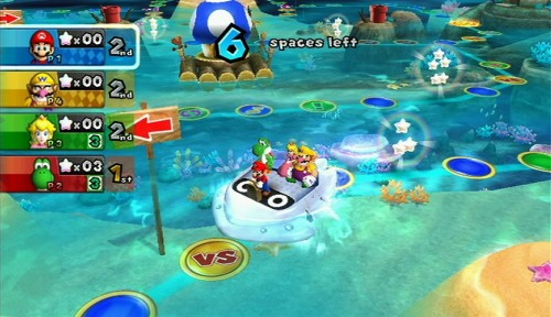 Mario Party 9 Tall Writer