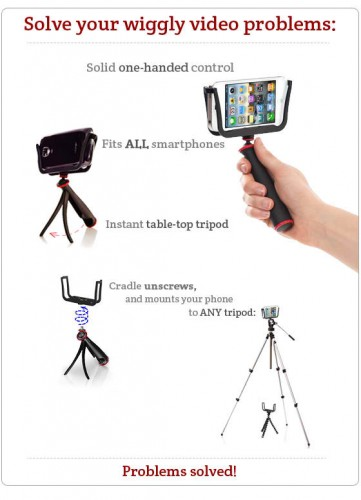 Photography Gear Kickstarter iPhone Android