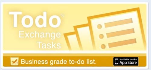 Appigo Releases Todo Exchange Tasks for iPhone
