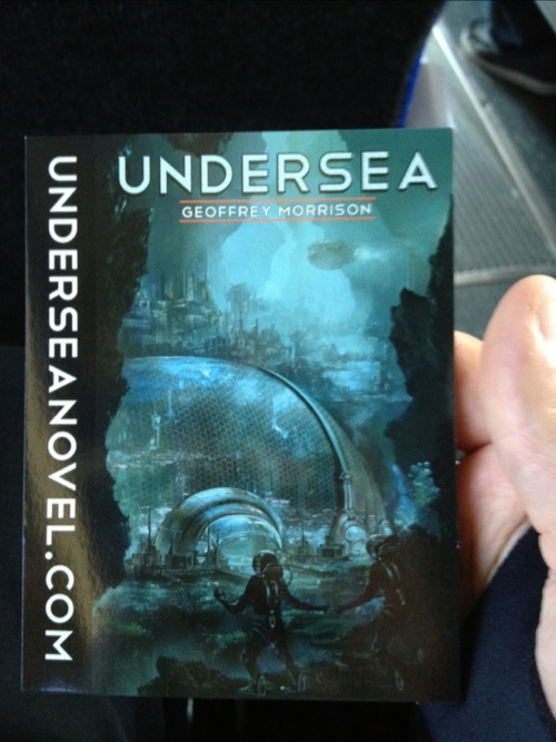 "Geoff Morrison's ""Undersea"" Only .99 On Kindle!"