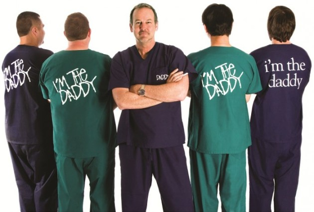 Daddy Scrubs Clothing Gear for Expecting Fathers