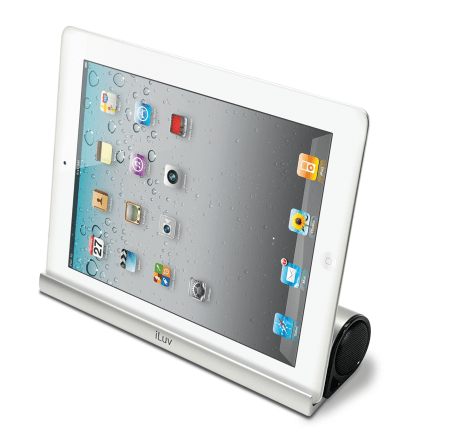 Mo'Beats Portable Stereo Bluetooth Speaker Stand Brings Sleek Design and Good Functionality to a Tablet Near you  Mo'Beats Portable Stereo Bluetooth Speaker Stand Brings Sleek Design and Good Functionality to a Tablet Near you