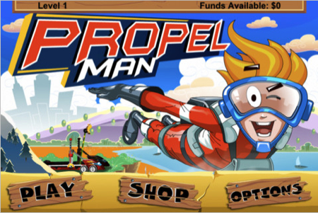 Propel Man for iPhone  Propel Man for iPhone