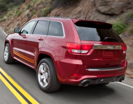 2012 Grand Cherokee SRT8 Most Powerful Jeep Yet