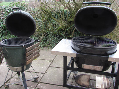 Big Green Egg vs. Primo XL: Kamado Dragons Face Off in the Ceramic Grill Octagon