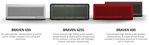 BRAVEN Ships Their SIX Series, Speakers That Offer Big Sound and Power on the Go