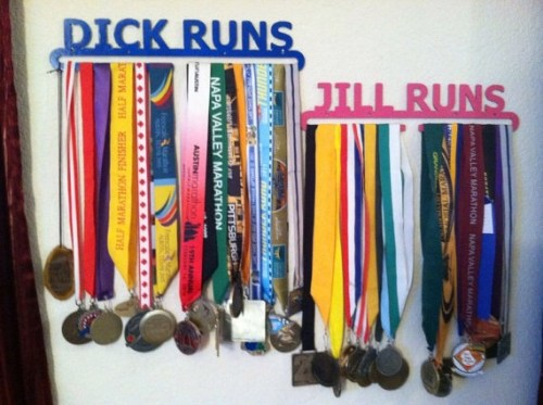 Metal Medal Hangers with a Shelf, Kickstart This!