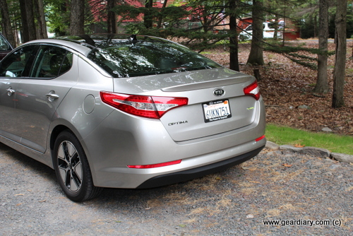 2012 Kia Optima Hybrid Review  2012 Kia Optima Hybrid Review