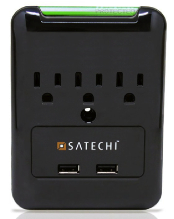 Protect Your Precious Gear With Satechi Slim Surge Protector