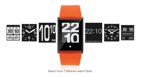 TOUCH TIME Digital Watch with Touch Screen Gets Kickstarted  TOUCH TIME Digital Watch with Touch Screen Gets Kickstarted