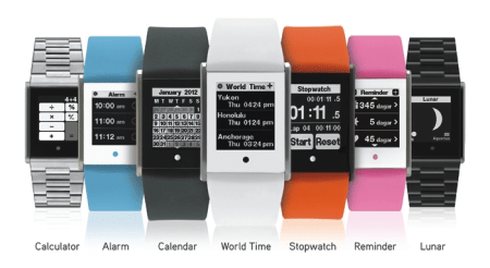 TOUCH TIME Digital Watch with Touch Screen Gets Kickstarted