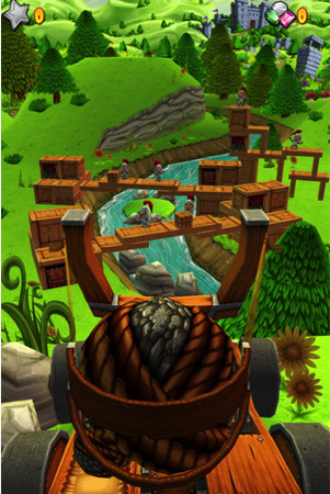 Catapult King for iPhone Review; It Brings Tons of Fun  Catapult King for iPhone Review; It Brings Tons of Fun