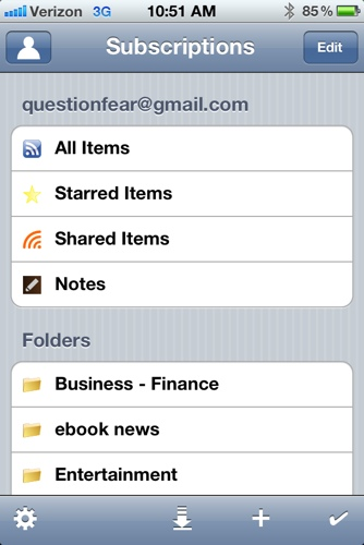 Feeddler RSS Reader for iOS Review