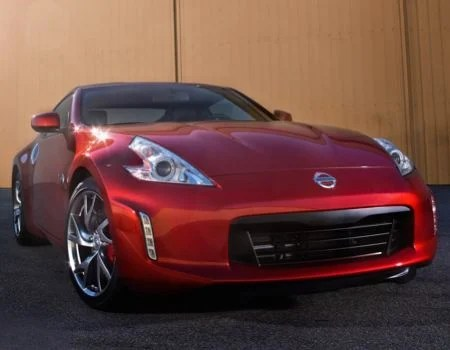 2013 Nissan 370Z Coupe in Steamy, Hot Magma Red  2013 Nissan 370Z Coupe in Steamy, Hot Magma Red