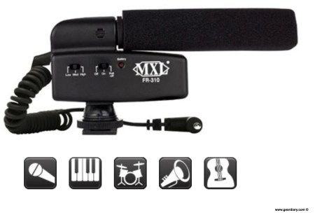 Marshall Electronics MXL FR-310 Hot Shoe Shotgun Microphone Review