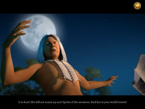 Spirit Walkers Curse of the Cypress Witch for iPad Review  Spirit Walkers Curse of the Cypress Witch for iPad Review