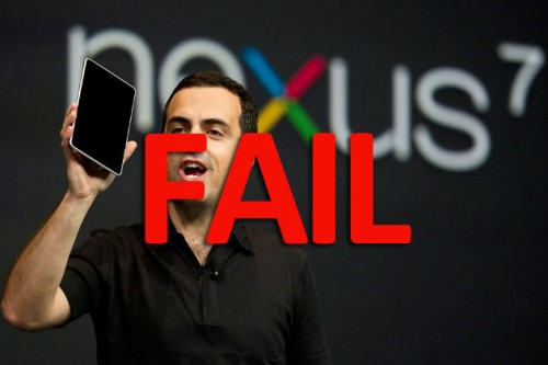 So Much for Success - Googles Nexus 7 Sold Less Than 1 Million Last Quarter!